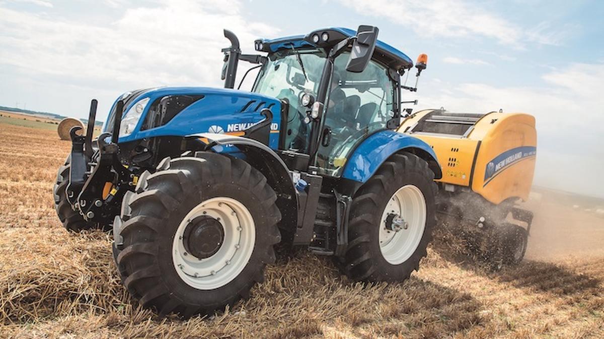 Новий трактор в команді NEW HOLLAND.