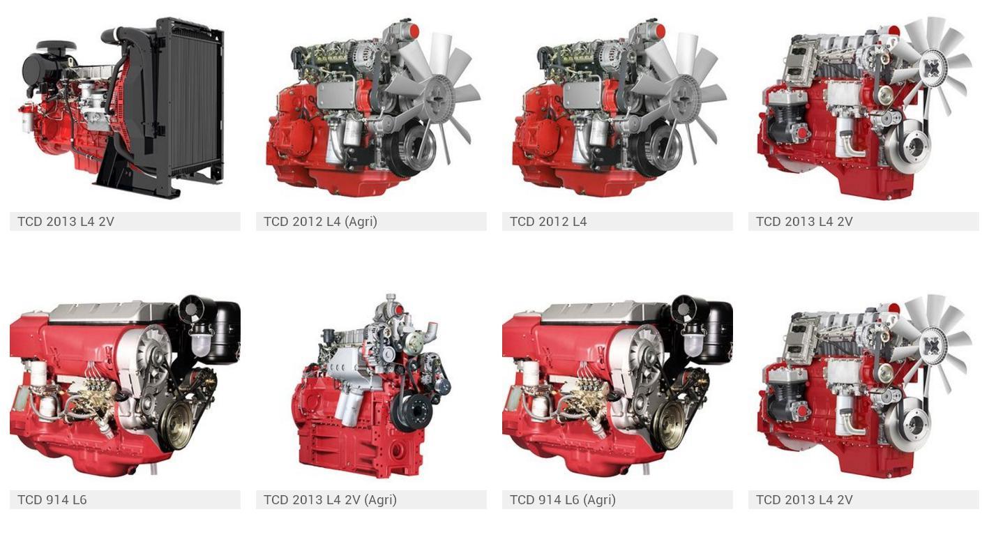 Види двигунів Deutz
