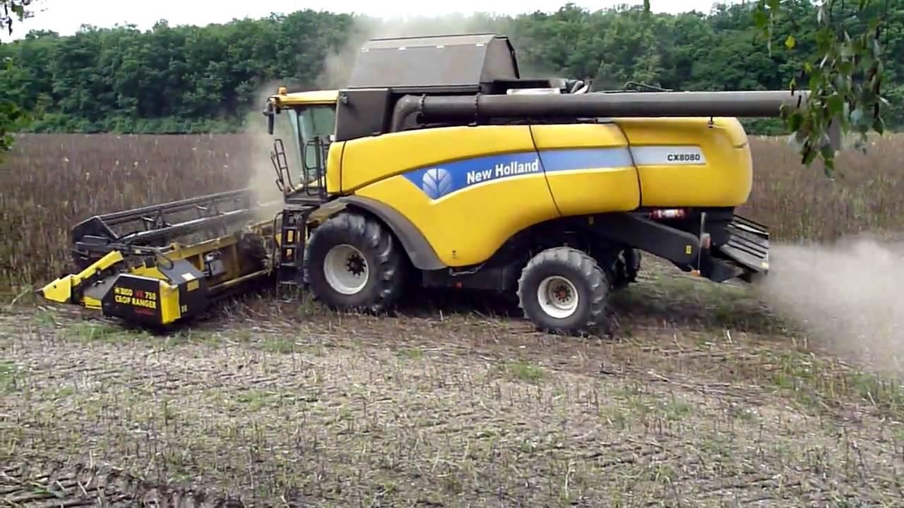 Комбайн New Holland серії CX